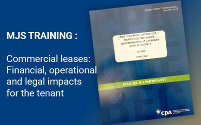 Commercial leases: financial, operational and legal impacts for the tenant